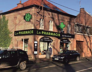 Bondues (nord-59) : vente de la pharmacie Martine Vinatier en exclusiv